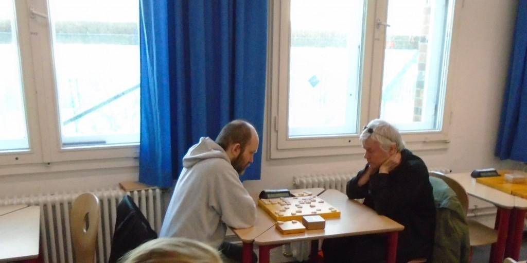 Hamburger Duell auf Lübecker Boden: In der ersten Runde treffen Martin Wolff (li.) und René Gralla (re.) aufeinander. Foto: R+R Müller