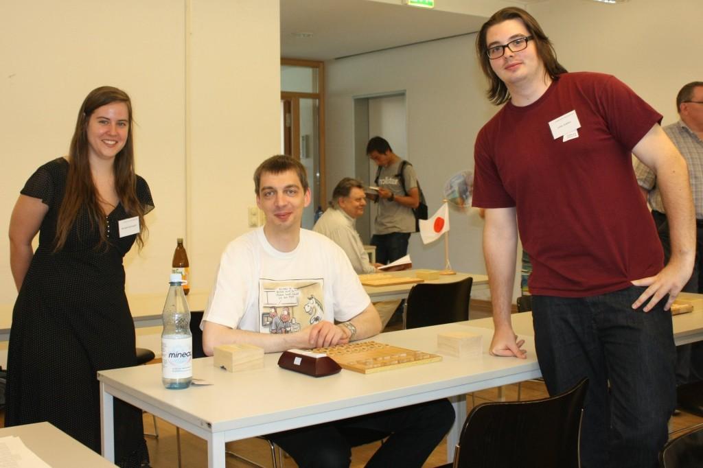 v.l.n.r: Michaela Baumgarth, Konrad Dreier und Julian Baldus. Foto: Fabian Krahe.