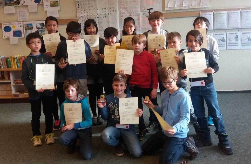 Die Turnierteilnehmer. Foto von Jürgen Woscidlo