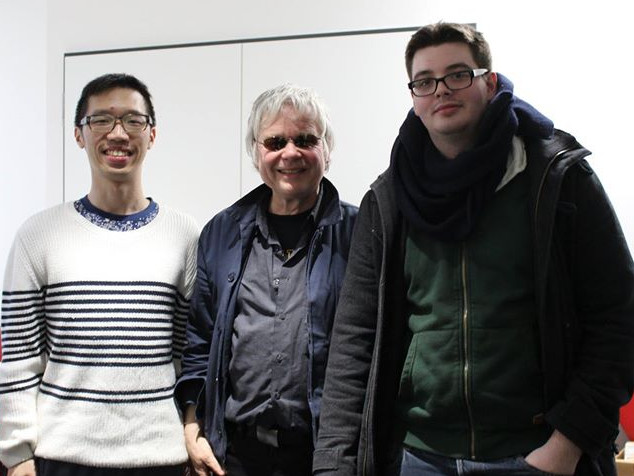 Ein geteilter zweiter Platz ging an Chung Man Chan (l.) und Julian Baldus (r.).  Foto von Michaela Baumgarth