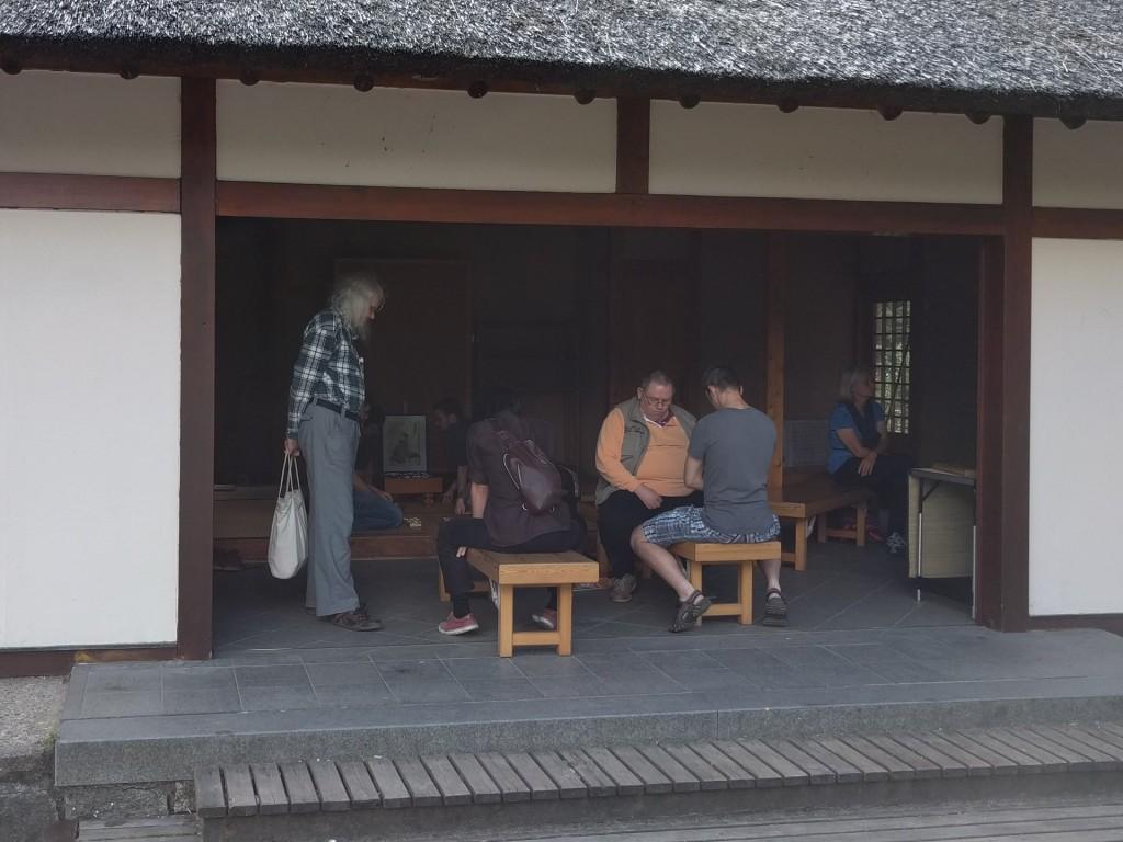 2017-08-06 Shôgi im Japanischen Teehaus 001