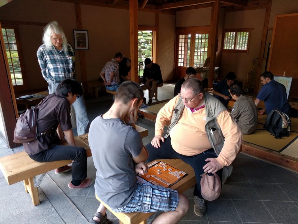 2017-08-06 Shôgi im Japanischen Teehaus 002