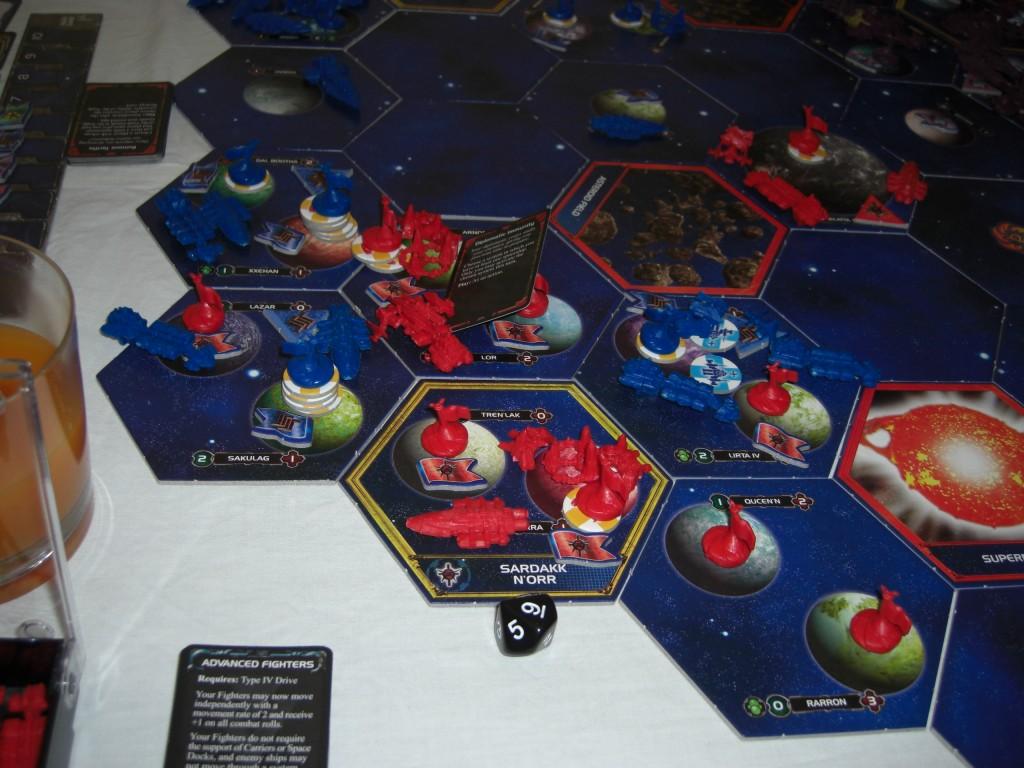 1 Invasion (Blau vs. Rot)