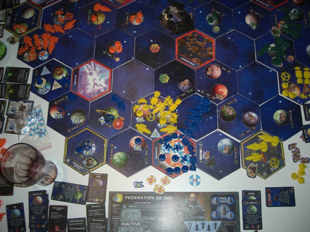 4 Große Schlacht (Blau vs. Gelb)