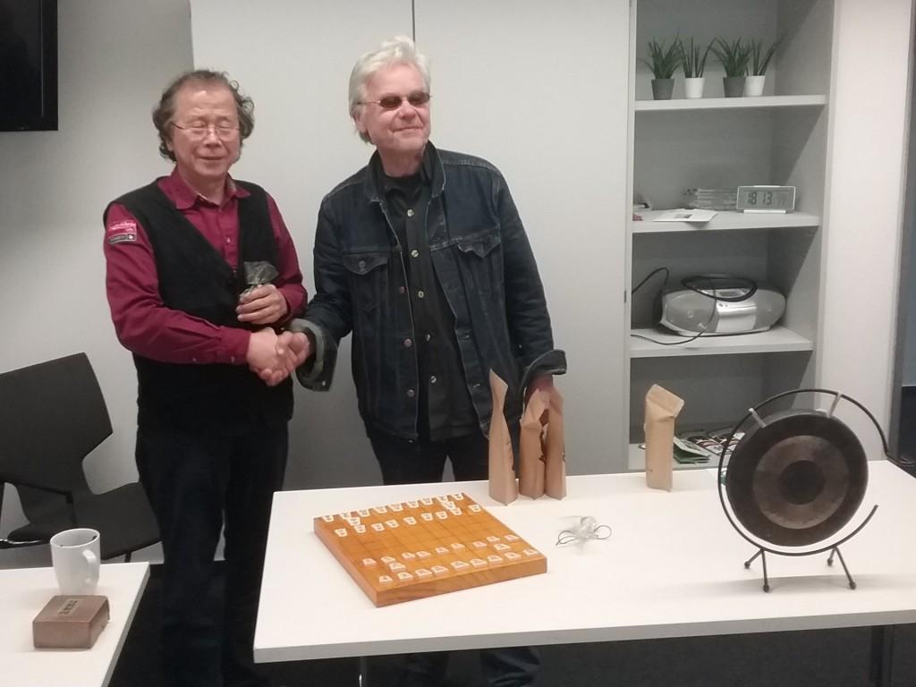 Masaomi Ishii (li.) und René Gralla.