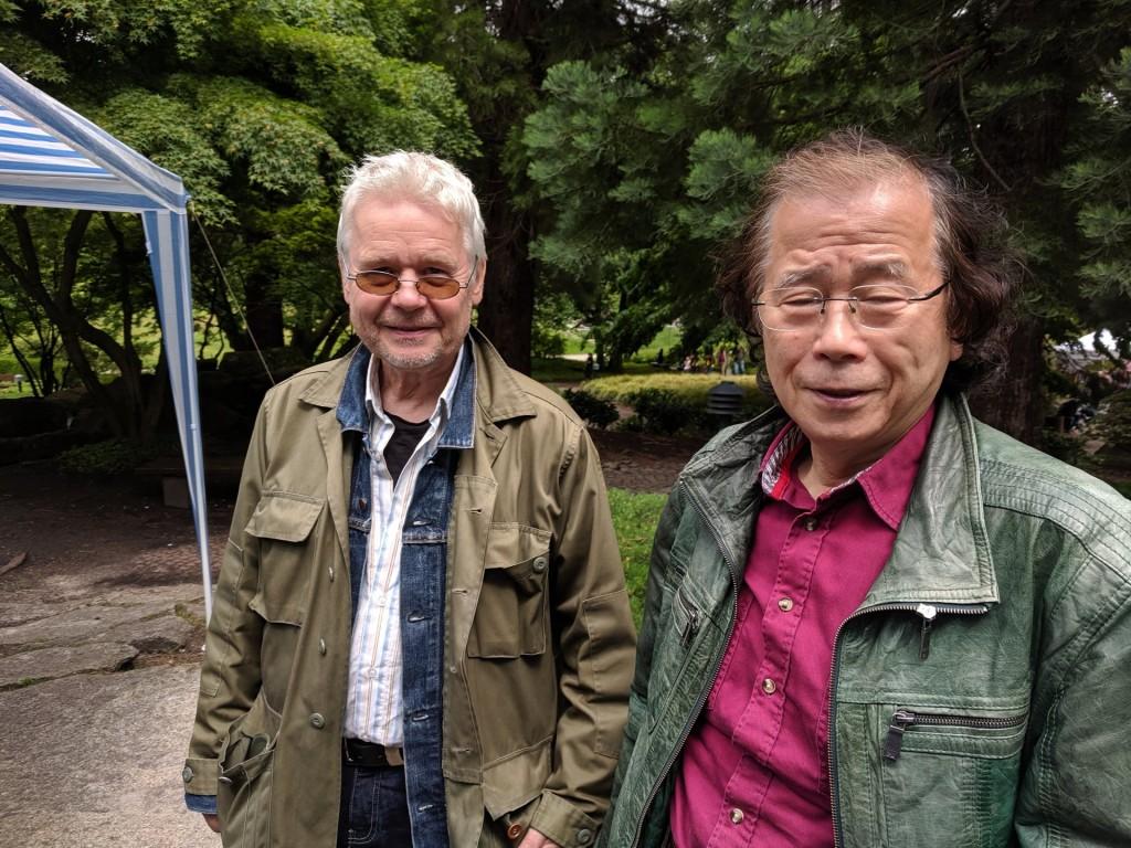 René Gralla (li.) und Masaomi Ishii.
