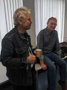 René Gralla (li.) und Rolf Müller.